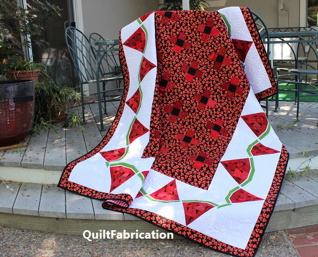 Watermelon Delight by QuiltFabrication