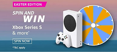 अमेज़ॅन Easter Edition क्विज़ जीते-Xbox Series S, Galaxy M31s, Rs 10,000 and more