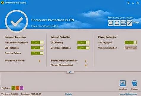 برنامج 360 internet security