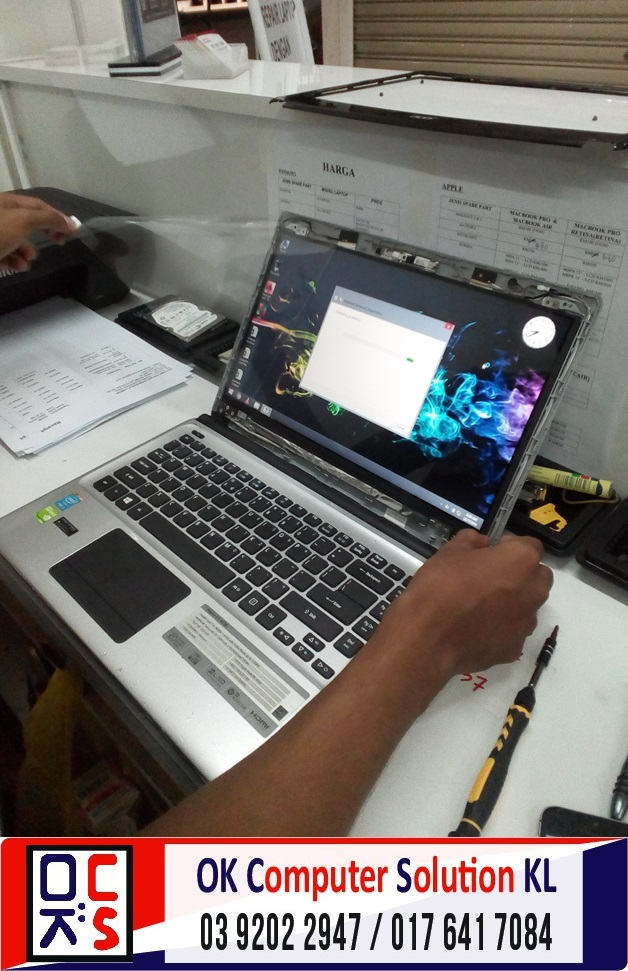 [SOLVED] AUTO SHUTDOWN ACER E1-472 | REPAIR LAPTOP CHERAS 8