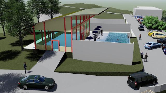 site plan resort hotel