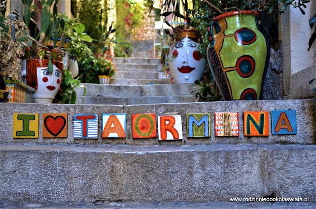 Sycylia z dziećmi- Taormina i Isola Bella