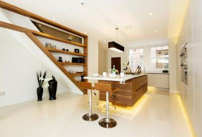 แบบห้องครัวไม้โมเดิร์น