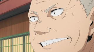 ハイキュー!! アニメ 2期7話 猫又監督   HAIKYU!! 梟谷学園グループ 合同合宿