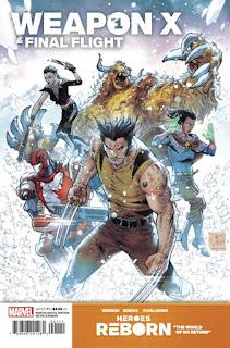 Un vistazo al cómic Heroes Reborn: Weapon X & Final Flight #1