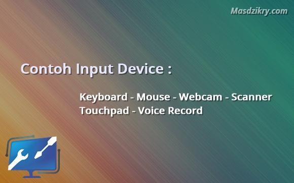 Contoh input device