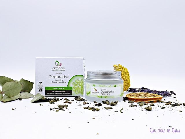 Crema Depurativa Armonía Cosmética Natural facial cremas beauty belleza skincare reciclar