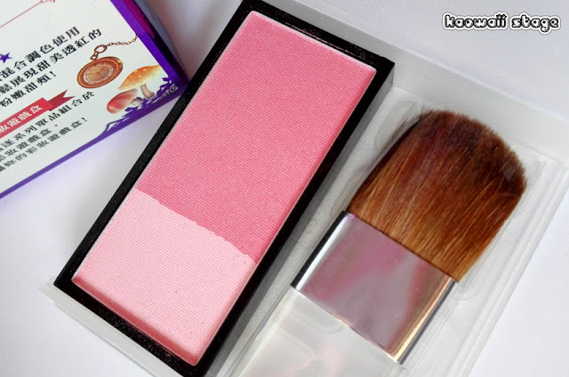 tinted blush color