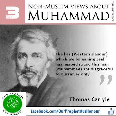 Thomas Carlyl view about Prophet Muhammad (PBUH) by Ummat-e-Nabi.com