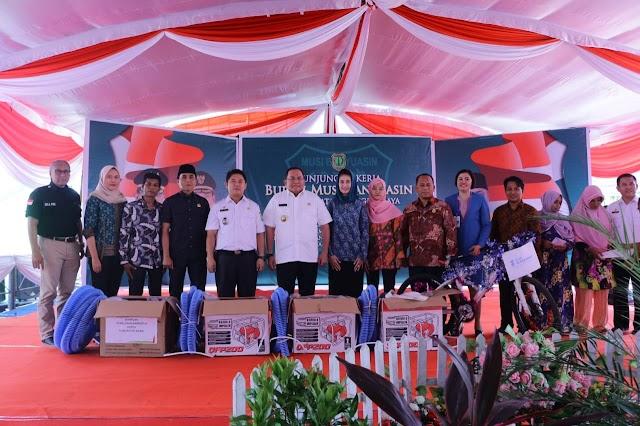 Pemkab Muba Sebar 287 unit  Alat Pemadam Untuk Daerah Rawan Karhutlah