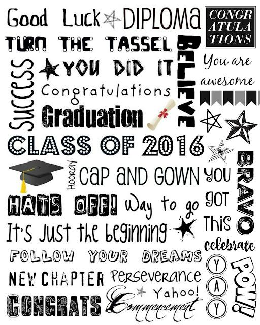 Upcycled Education: Graduation Subway Art 2016