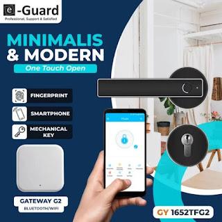E-Guard - Smart Digital Door Lock GY1652TFG2
