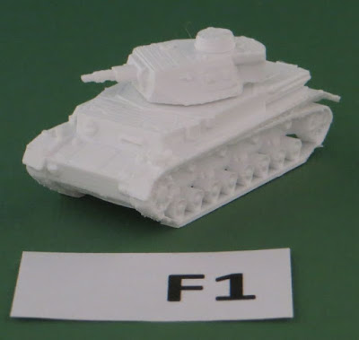 Ausf F1,    7.5cm KwK 37 L/24 gun, standard late body design