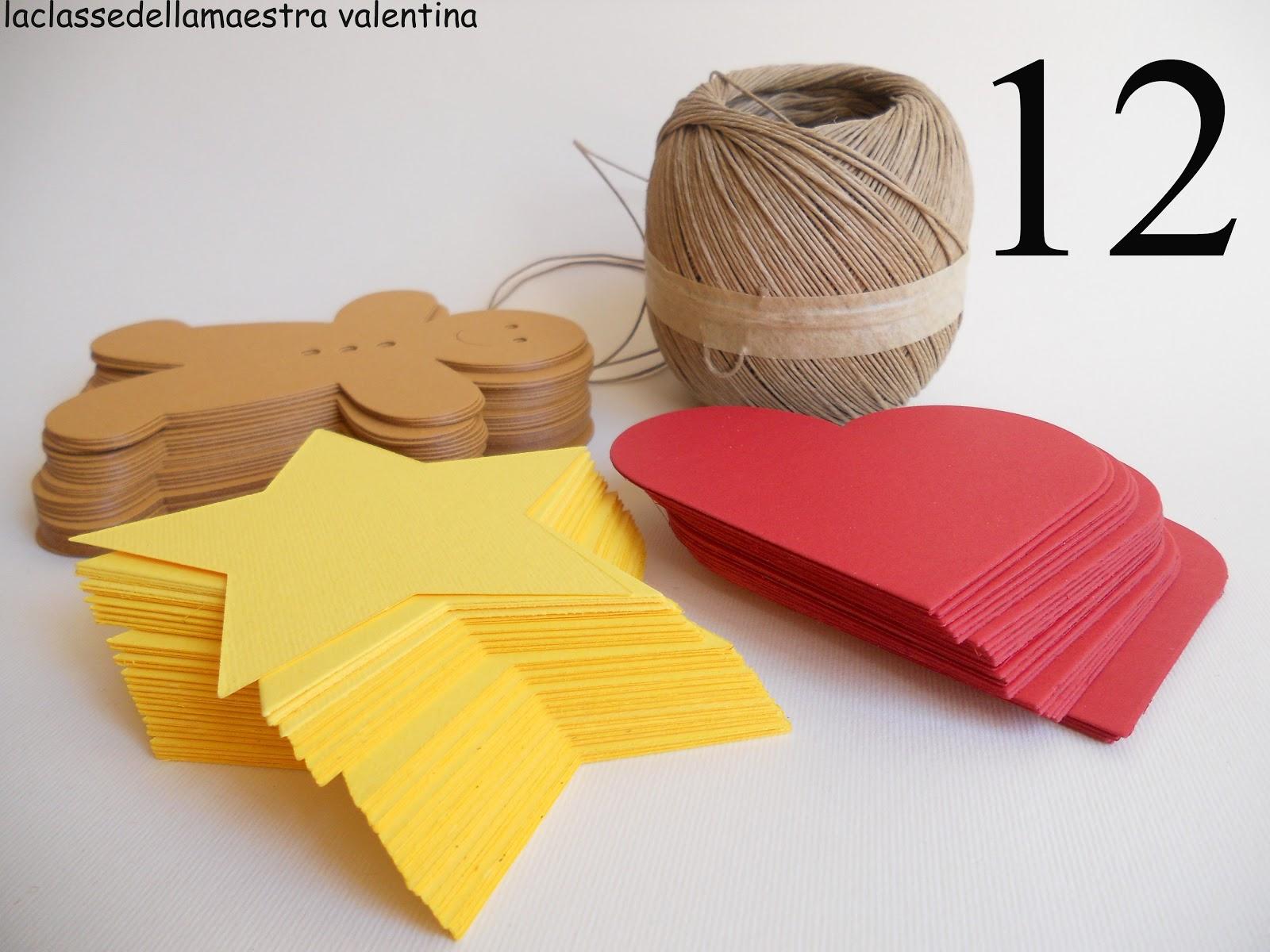 La classe della maestra valentina preparativi natalizi for Lavoretti di natale maestra mary