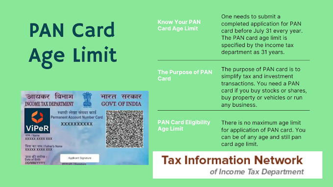 Know Your PAN Card Age Limit: Who Needs a PAN Card and What It Is Used For