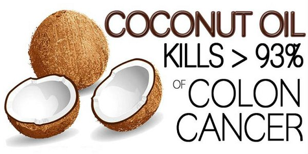 Here's How Coconut Oil Kills 93% Of Colon Cancer Cells After 2 Days Of Treatment