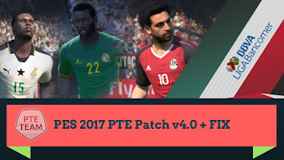 Download PES 2017 PTE Patch 2017 4.0 For Pc