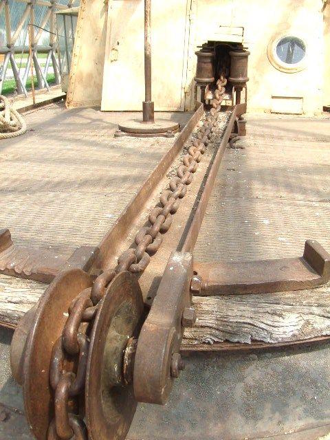 chain boat