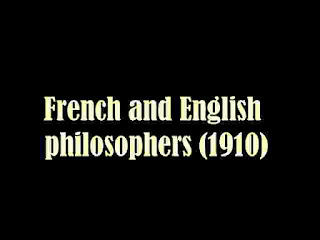 French and English philosophers (1910)