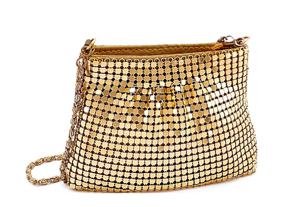 gouden portemonnee tasje