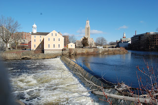 The Blackstone River runs from Worcester to Narragansett Bay and  close by the Slater Mill in Pawtucket, RI where I grew up