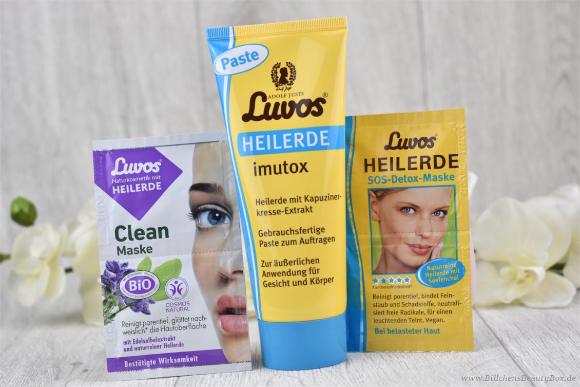 Review - Luvos Heilerde: imutox Paste - SOS-Detox-Maske und Clean Maske