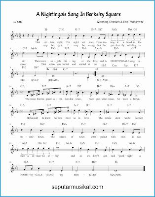 a nightingale sang in berkeley square lagu jazz standar