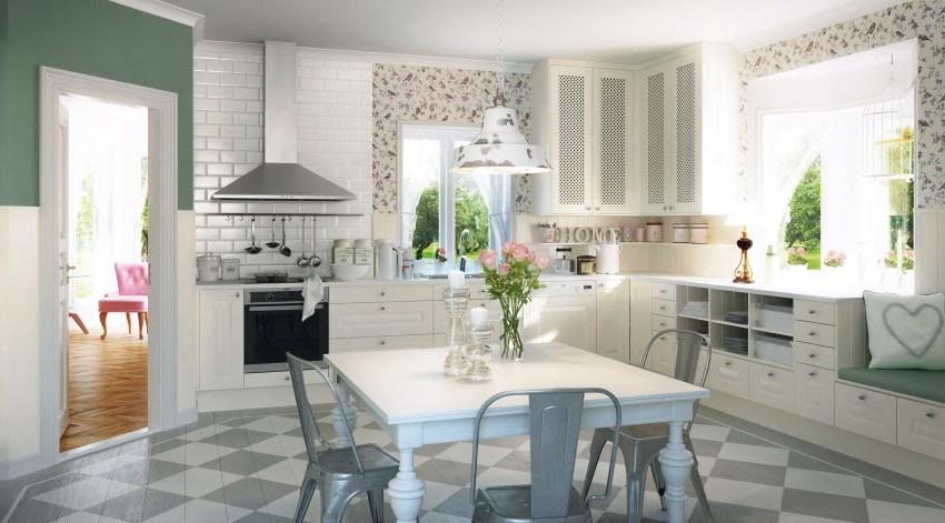 El rom ntico estilo n rdico en la cocina cocinas con estilo - Cocinas estilo nordico ...