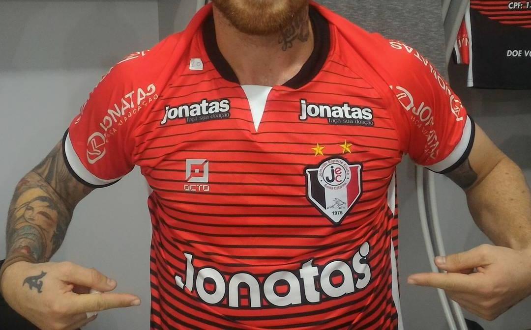 4fbd3ca906 Joinville cede espaço de patrocínio na camisa para campanha beneficente
