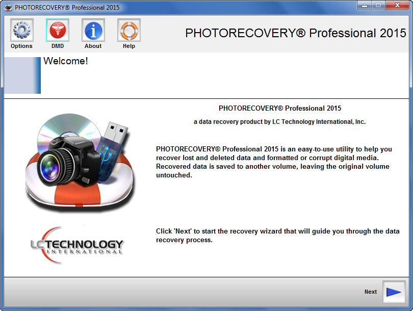 lc-tech PHOTORECOVERY Professional 2015 Crack