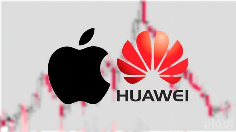 Apple Dikalahkan Huawei sebagai Produsen Smartphone Terbesar Kedua di Dunia, huawei vs apple, huawei apple twitter, huawei vs apple sales 2019, apple and huawei competition, samsung vs apple sales, huawei p30 pro, apple vs samsung sales 2020, huawei smartphone