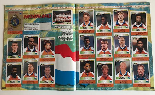 Figurine Olanda Euro 96