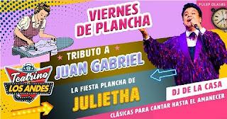 Auto Concierto tributo a Juan Gabriel y Julietha 2020