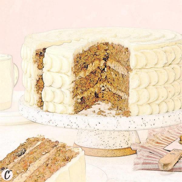 Carrot 🥕 Layer Cake