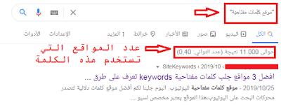 قائمة لأفضل 12 موقع كلمات مفتاحية عربية لليوتيوب والمواقع