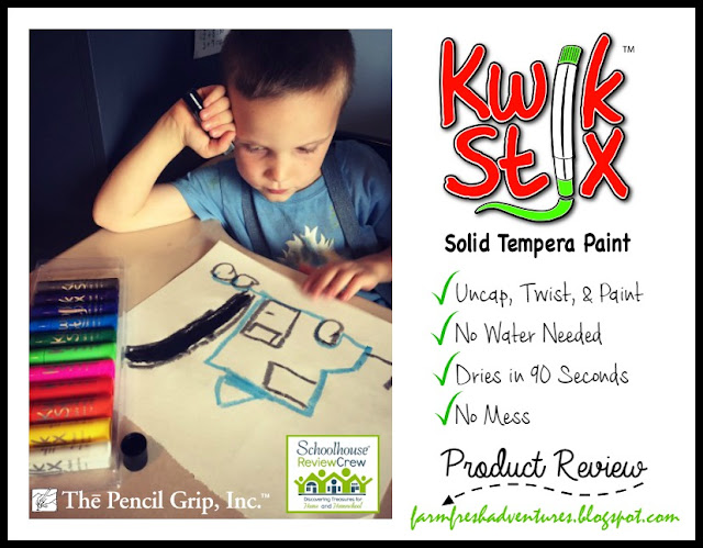 Kwik Stix from The Pencil Grip, Inc. Product Review