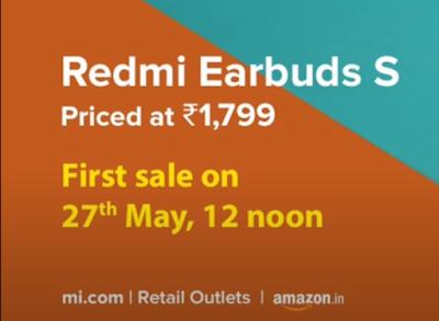 Redmi Earbuds S |Redmi Earbuds S  Specifications |Redmi Earbuds S Price in India Redmi Earbuds S| Budget TWS Earphone