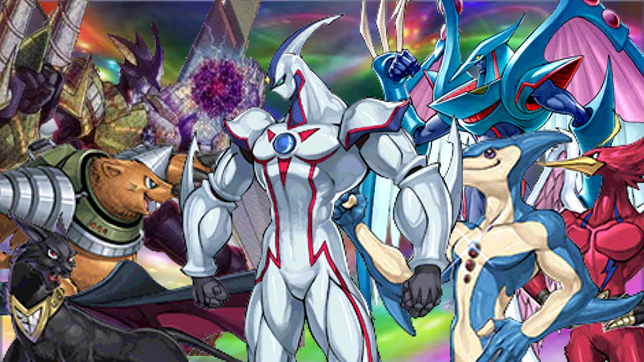 Elemental hero Neos e vários outros - wallpaper