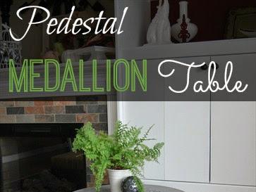 Pedestal Medallion Table