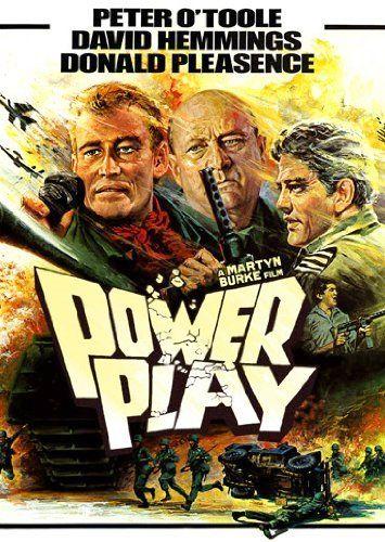 Power Play (1978) original film poster