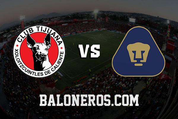 Xolos Tijuana vs Pumas 2016