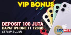 Bonus Deposit ITCBET 100 Juta