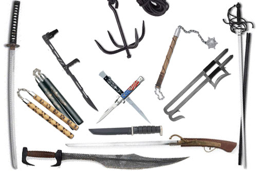 Martial Arts Studies On Weapons Training