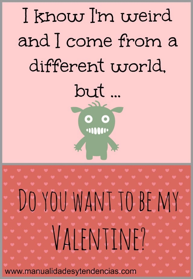 Free printable funny Valentine's day card