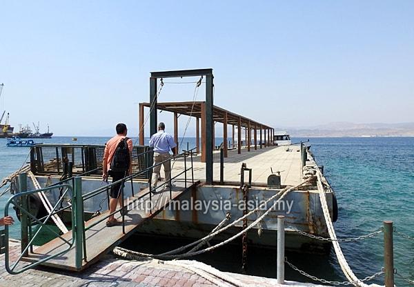 Jetty in Aqaba