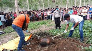 Siswa SMP Dibunuh di Kebun Karet