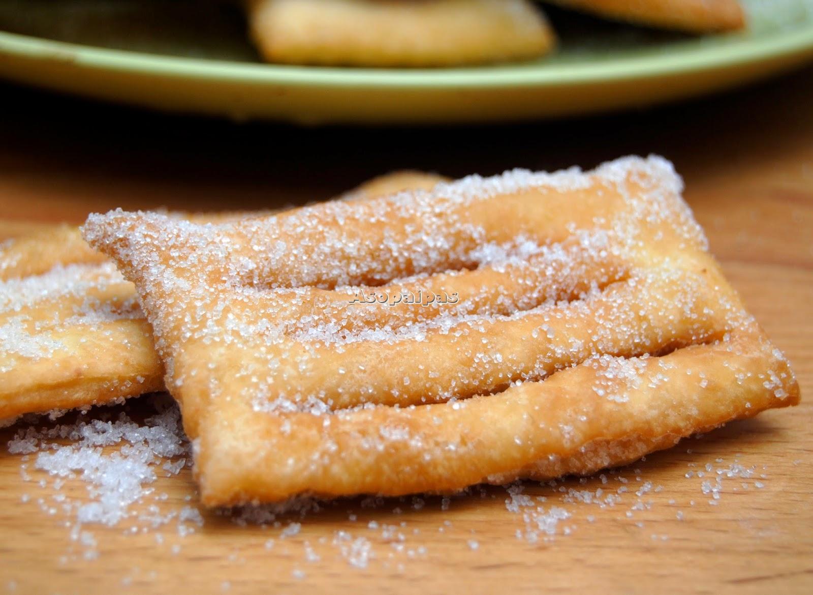Chiacchere Frituras de Carnaval Italianas