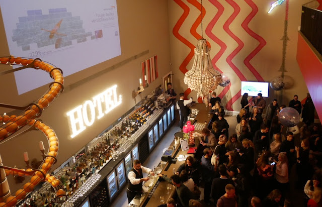 BA Amex Event - Ham Yard Hotel, Dive Bar, London