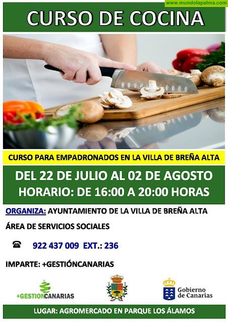 Curso de Cocina en Breña Alta