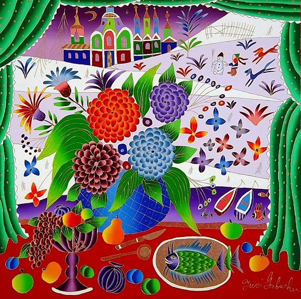 Il fantastico mondo della pittura Yuri%2BGorbachev%2Bi
